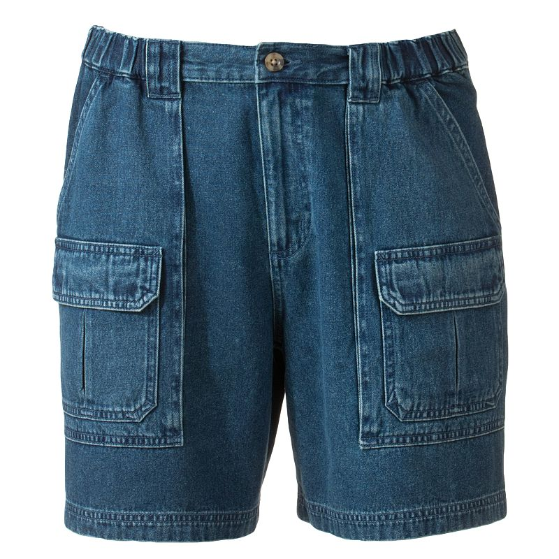 Croft and Barrow Denim Cargo Shorts - Men