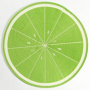 Croft and Barrow Lime Round Placemat