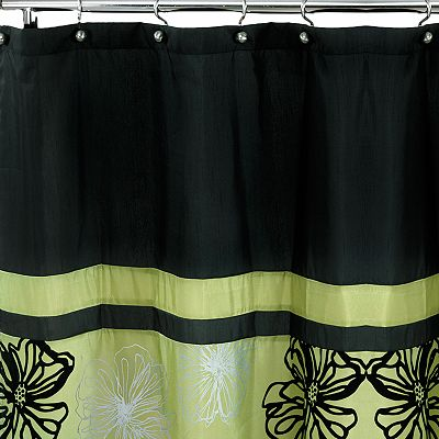 Popular Bath Tonya Fabric Shower Curtain