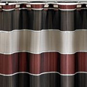 Popular Bath Modern Line Shower Curtain