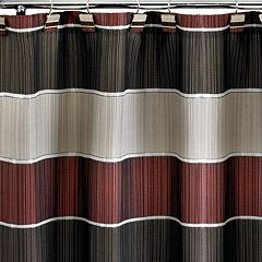 Popular Bath Modern Line Fabric Shower Curtain
