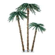 Sterling 3-pc. Pre-Lit Palm Tree Set