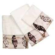 Popular Bath Shimmer 3 pc Bath Towel Set