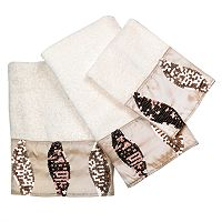 Popular Bath Shimmer 3 pc Bath Towel Set