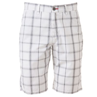 Tony Hawk Plaid Flat-Front Shorts - Men