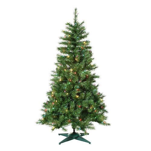 Sterling 5-ft. Colorado Spruce Pre-Lit Artificial Christmas Tree