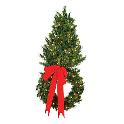 Sterling 2-ft. Wall Tree With 18-in. Wreath