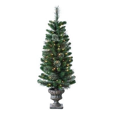 Sterling 4-ft. Atlantic Cashmere Potted Pre-Lit Christmas Tree