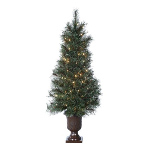 Sterling 4-ft. Western Cashmere Potted Pre-Lit Artificial Christmas Tree
