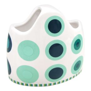 Allure Home Creations On a Dot Toothbrush Holder