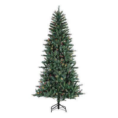 Sterling 7-Ft. Dunhill Pine Pre-Lit Christmas Tree