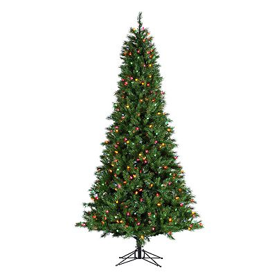Sterling 9-Ft. Retro Pine Pre-Lit Christmas Tree
