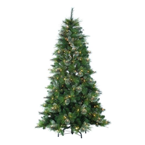 Sterling 7-ft. Pre-Lit Spruce Artificial Christmas Tree