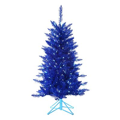 Sterling 4-ft. Pre-Lit Tinsel Christmas Tree
