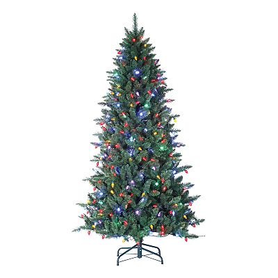 Sterling 7 1/2-ft. Columbus Pine Pre-Lit Christmas Tree