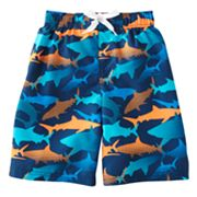 Jumping Beans Shark Swim Trunks - Boys 4-7x
