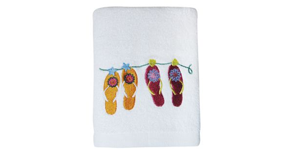 Allure Home Creations Sun And Sand Hand Towel