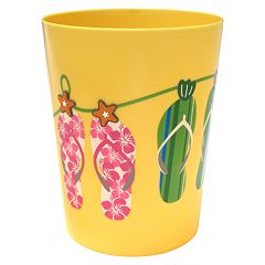 Allure Home Creations Sun & Sand Wastebasket by