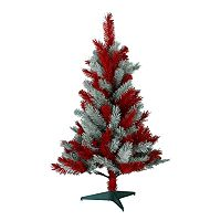 Sterling Mississippi State Bulldogs 3-ft. Tabletop Artificial Christmas Tree