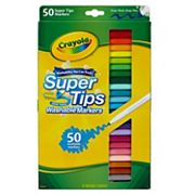 Crayola 50-pk. Super Tips and Silly Scents Markers
