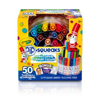 Crayola 50 Count Pip-Squeaks Marker Tower