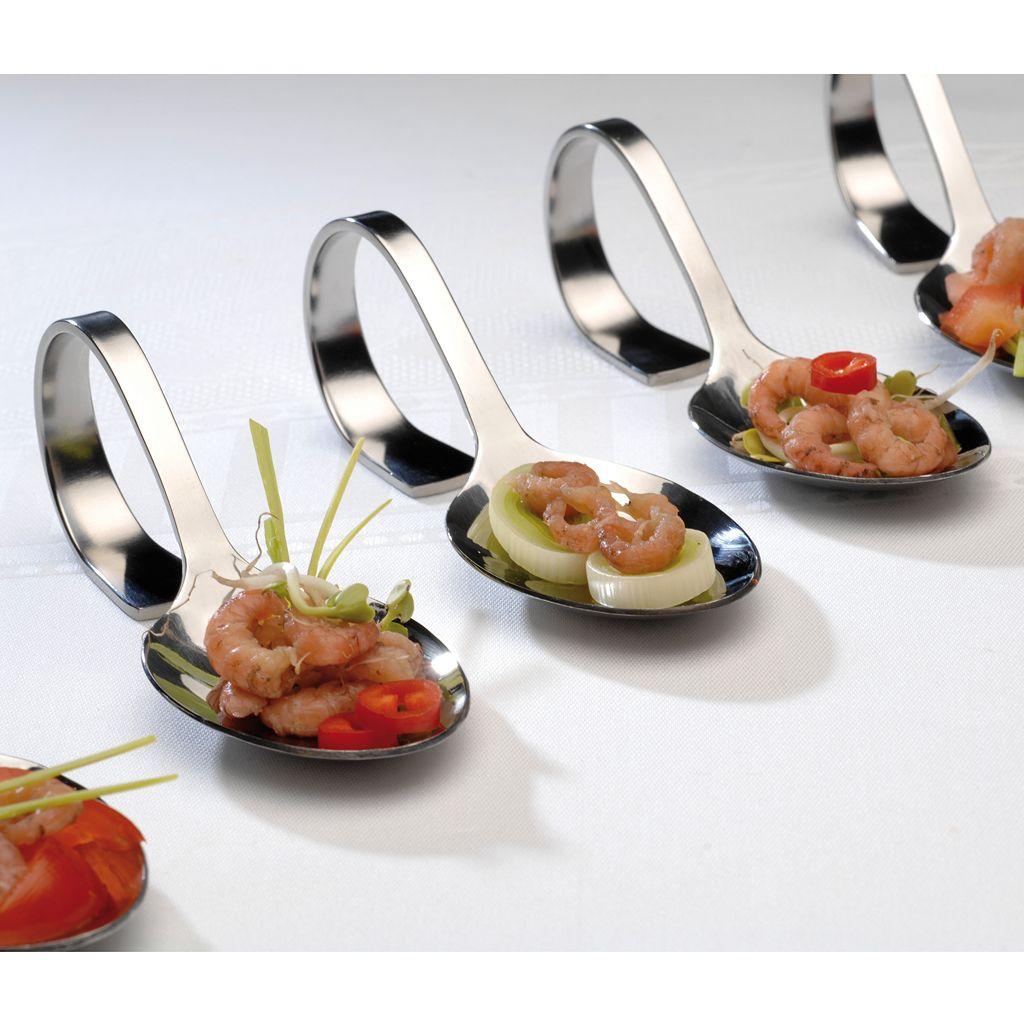 BergHOFF 6-pc. Zakouski Appetizer Spoon Set