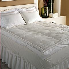 Royal Majesty 5 in 233-Thread Count Down Top Featherbed - Queen