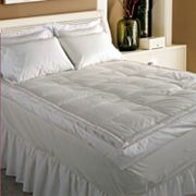 Royal Majesty 5 in 233-Thread Count Down Top Featherbed - King