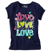 Jumping Beans Love Tee - Girls 4-7