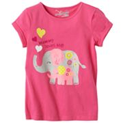 Jumping Beans Mommy Loves Me Tee - Girls 4-7