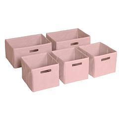 Guidecraft 5-pk. Pink Storage Bins