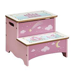 Guidecraft Princess Storage Step Stool by