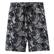 Jumping Beans Skull Canvas Shorts - Boys 4-7x