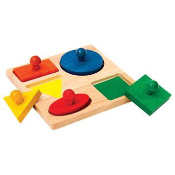 Guidecraft Geo Puzzle Board