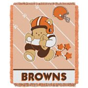 Cleveland Browns Baby Jacquard Throw