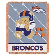 Denver Broncos Baby Jacquard Throw