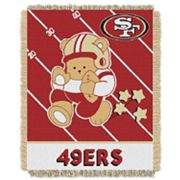 San Francisco 49ers Baby Jacquard Throw