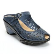 Croft and Barrow sole (sense)ability Peep-Toe Clogs - Women