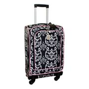 Jenni Chan Luggage, Damask 20-in. Spinner Carry-On