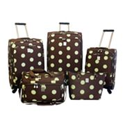 Jenni Chan Dots 5-pc. Luggage Set