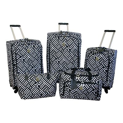 Jenni Chan Luggage, Signature 5-pc. Luggage Set