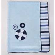 Bacati Little Sailor Receiving Blanket