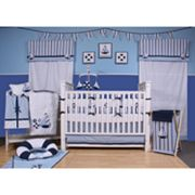 Bacati 10-pc. Little Sailor Crib Set