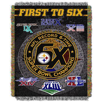Pittsburgh Steelers Commemorative Throw Blanket by Northwest