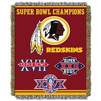 Washington Redskins Commemorative Throw Blanket by Northwest