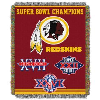 Washington Redskins Commemorative Throw Blanket by Northwest