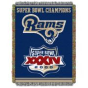 Los Angeles Rams Commemorative Throw Blanket by Northwest