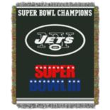 New York Jets Commemorative Throw Blanket by Northwest