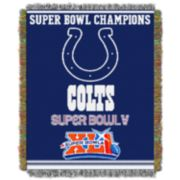 Indianapolis Colts Commemorative Throw Blanket by Northwest