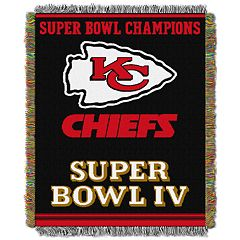 Kansas City Chiefs Commemorative Throw Blanket by Northwest